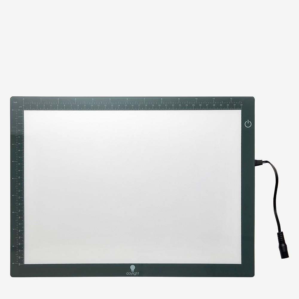 Daylight Lighting :Bloc Léger Protecteur Gaufré : Ultra Fin A4 Boîte Légère
