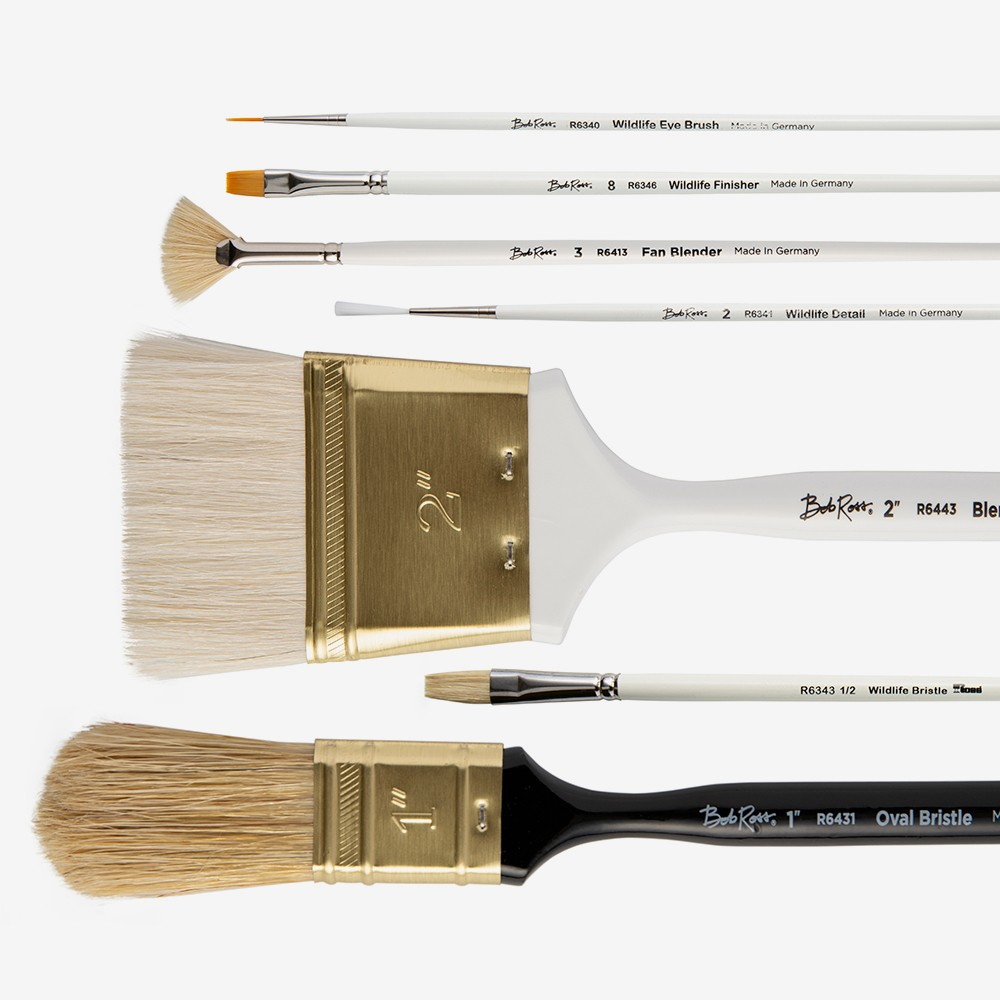 Bob Ross : Brushes