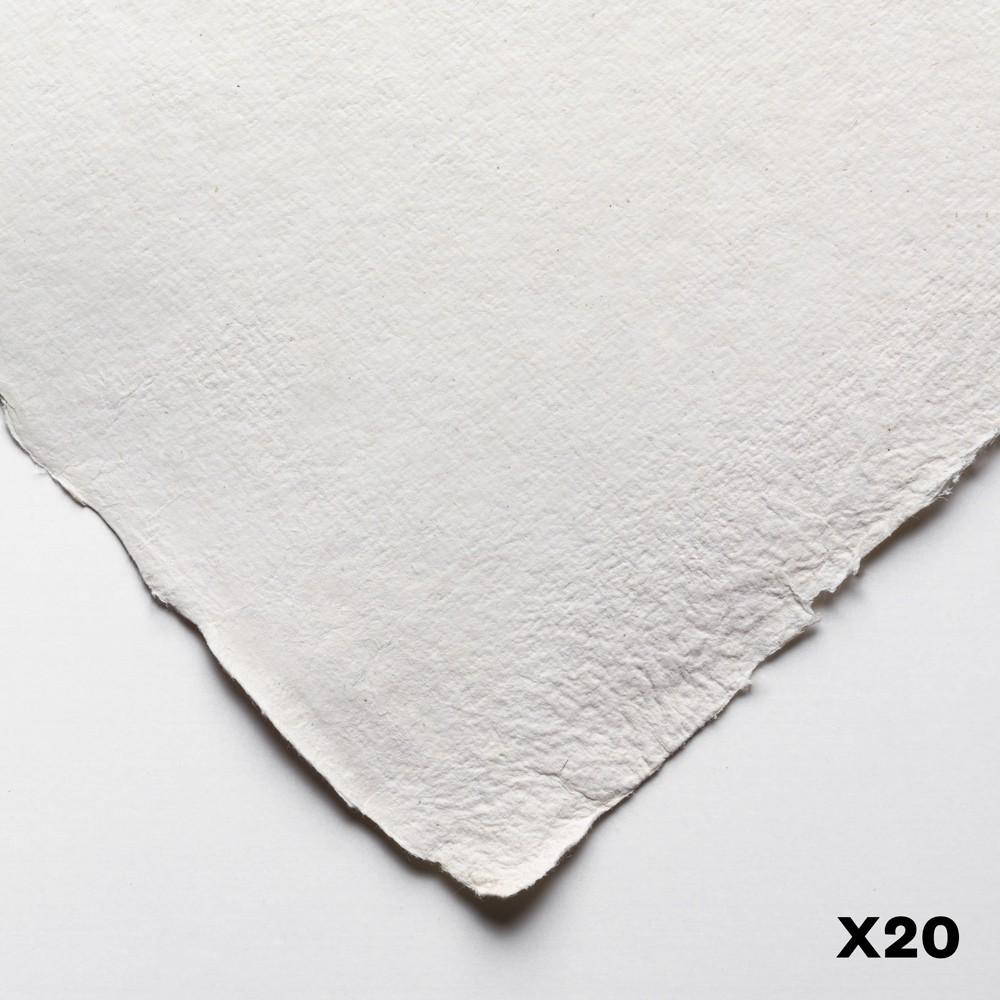 Jackson's : Eco Papier : Surface Lisse / Satiné : 200lb :30x40cm : 20 Quart de Feuilles
