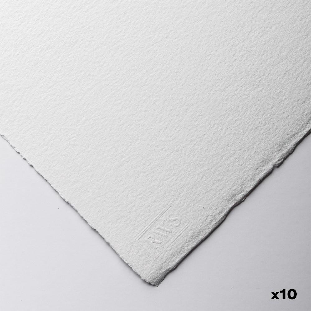 Royal Watercolour Society : Papier Aquarelle : 56x76cm : 425gsm : 10 Feuilles : Grain Fin