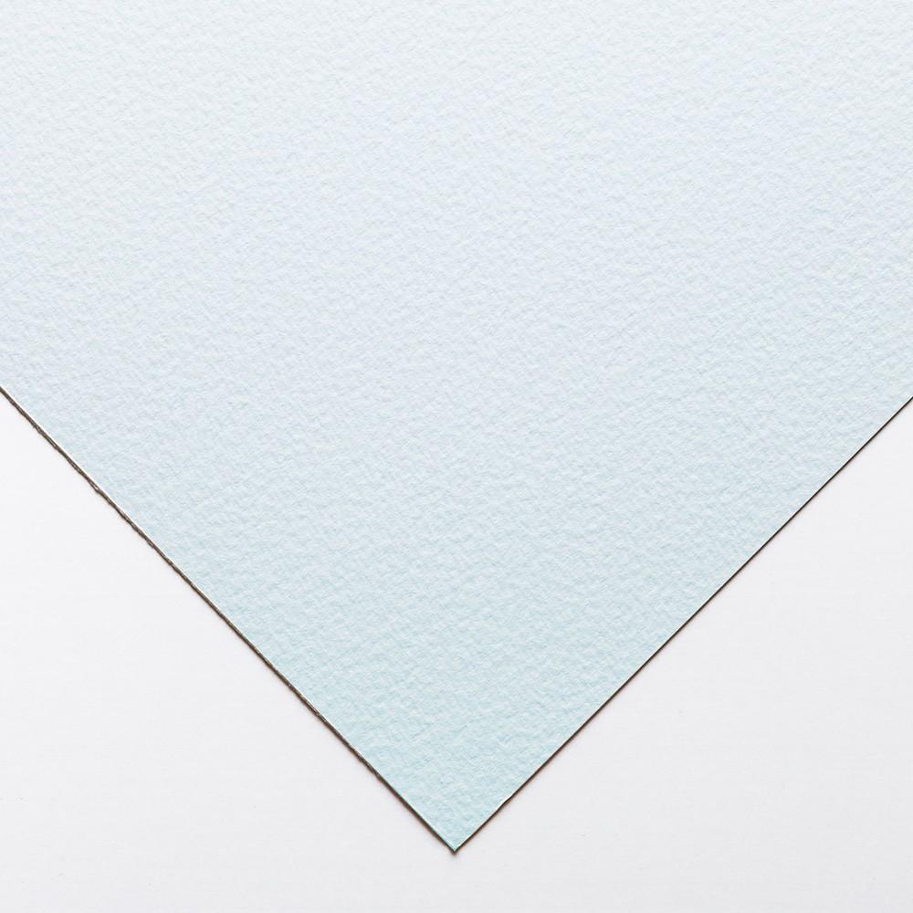 Bockingford : Teintée Bleu: 140lb : 300gsm : 56x76cm : Feuille Simple: Grain Fin