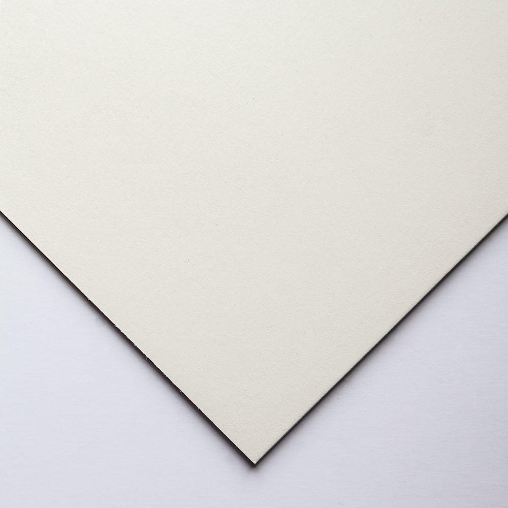 Crescent : Tableau Oeuvre d'Art  : Aquarelle : Tissu Blanc Cassé : Grain Satiné : A Fort Grammage : 15x20in (5115.3)