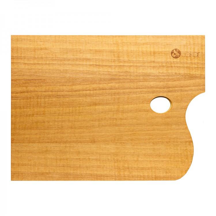 Jakar :Palette Rectangulaire Huilée à l'Huile de Noixe : 30x40cm