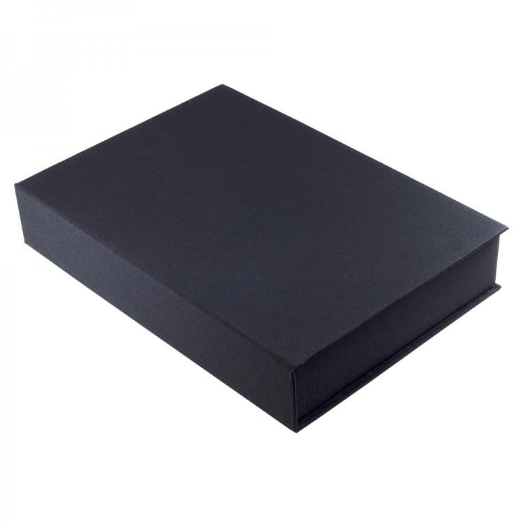 Seawhite :Boîte de Rangement A4 , Noir Basique : 50mm de Profondeur
