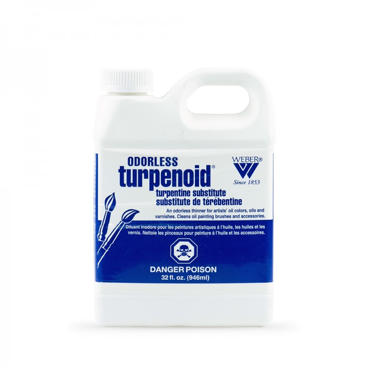 Weber : Turpenoid Sans Odeur : Térébenthine de Subsitution: 946ml