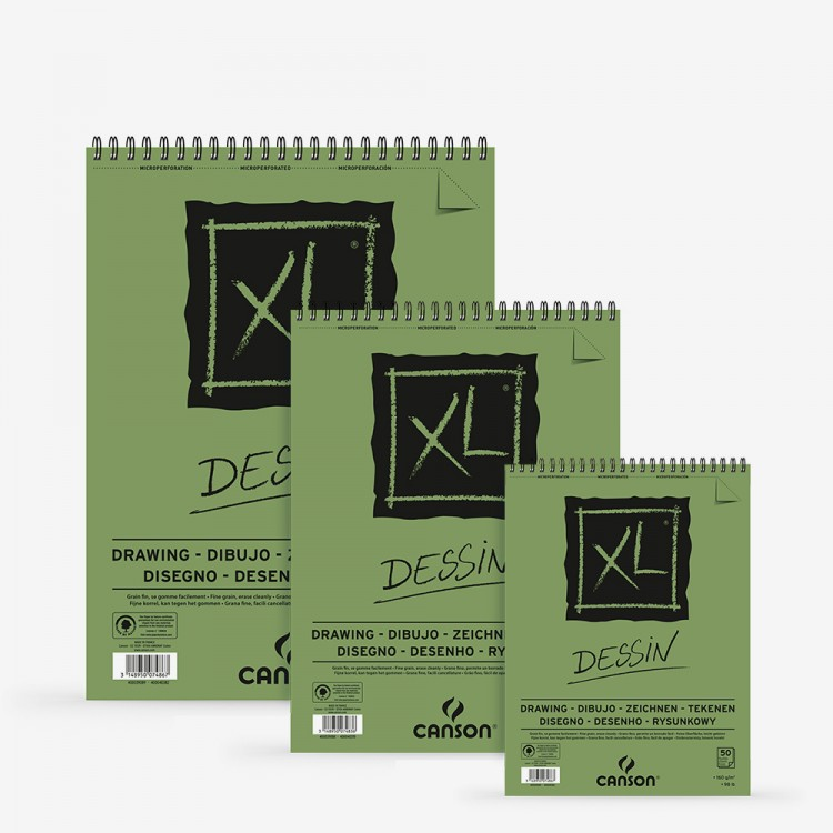 Canson : XL : Drawing : Spiral Pad : 160gsm