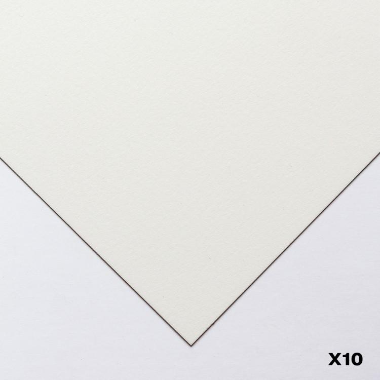 Canson : Heritage : Papier Aquarelle : 56x76cm : 300gsm : Grain Satiné : 10 Feuilles