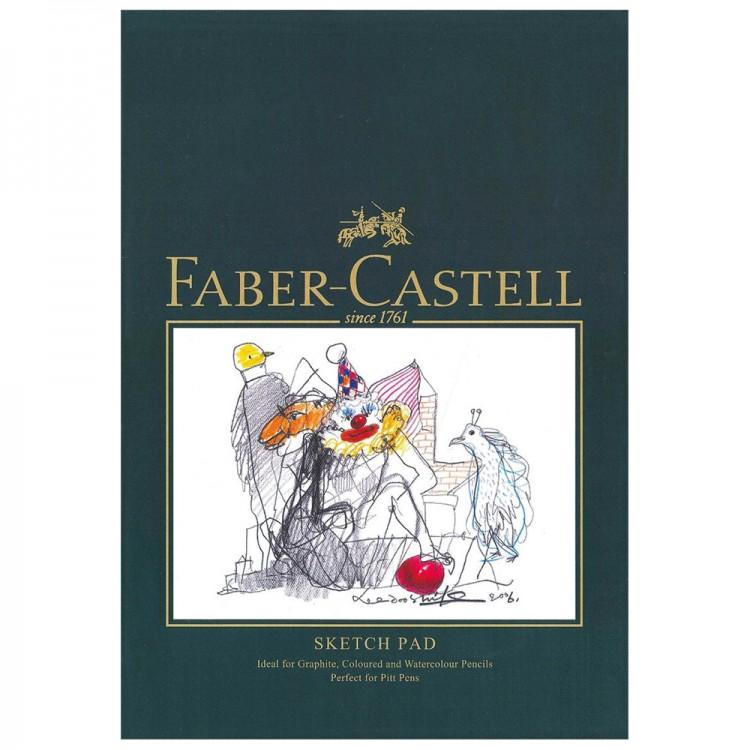 Faber Castell : Bloc Papier à Croquis : 160gsm : 40 Feuille : A4