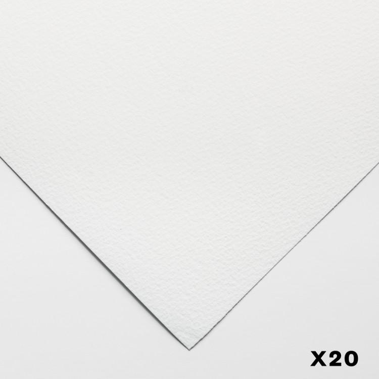Millford : 100% Coton : 140lb : 56x76cm : 20 Feuilles : Grain Fin