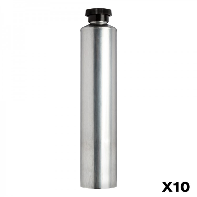 Jackson's :Tube de Peinture Vide en Aluminium : 60ml : Lot de 10