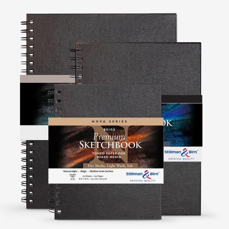 Stillman & Birn : Nova Series Wirebound Sketchbooks