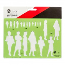 Jakar :Modèle Figure Femme (1:20, 1:25, 1:75, 1:100, 1:1.25)