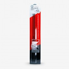 Jakar :Lot Cutter à Panneaux : Inclut  Cutter à Panneaux 45 et 90 Degrés & Règle Acrylique 40 cm