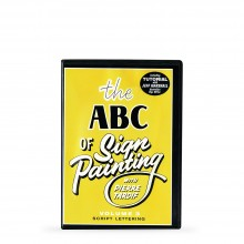 DVD: The ABC of Sign Painting by Pierre Tardif : Volume 4