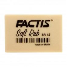 Factis : Soft Rub (Gum) Gomme : Blanc Cassé
