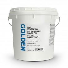 Golden :Gel Médium : Fine Pumice Gel: 3780ml