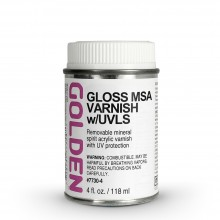 Golden : MSA (Mineral Spirit Acrylic) Verni: Brillant : 119ml : Expédition par Voie Terrestre: