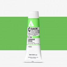 Holbein : Acryla : Gouache : 20ml : Luminous Green