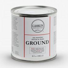 Gamblin :Base Peinture à l'Huile : 236ml : Expédition par Voie Terrestre
