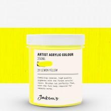 Jackson's : Artist : Peinture Acrylique : 250ml : Lemon Yellow