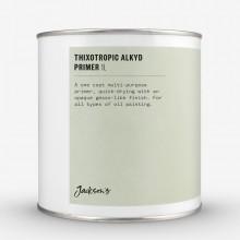 Jackson's : Thixotropic : Apprêt à l'Huile d'Alkyde  : 1 litre : Expédition par Voie Terrestre: