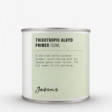 Jackson's : Thixotropic : Apprêt à l'Huile d'Alkyde  : 250ml : Expédition par Voie Terrestre: