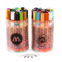 Molotow : One4All : 127HS : Acrylique : Marqueur : Complete Kit : Lot de  41