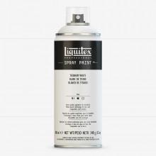 Liquitex : Professionnel: Peinture en Spray : 400ml: Titanium White (Expédition par voie terrestre)
