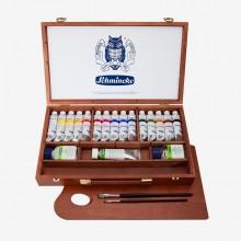 Schmincke :Primacryl Peinture Acrilique : Coffret en Bois de 15 x 35 ml Tubes