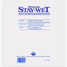 Daler Rowney :Stay Wet Palette : Lot de Recharge : Petit Format : 10x8in