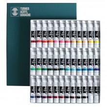 Turner : Gouache Peinture Acrylique  : 20ml : Lot de 36 couleurs