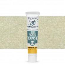 Turner : Gouache Peinture Acrylique  : 20ml: Colour Pearl Lemon 404