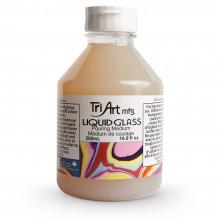 Tri-Art :Médium Liquide pour Vitrage : Pouring Medium : 500ml