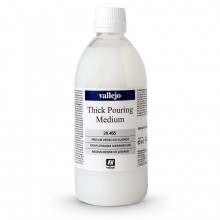 Vallejo : Thick Pouring Medium : 500ml