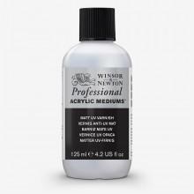 Winsor & Newton : Professionnel: Acrylique : Médium : Mat UV Verni : 125ml
