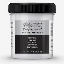Winsor & Newton : Professionnel: Acrylique : Médium : Gel Mat : 237ml