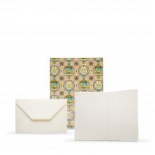 Fabriano : Medioevalis : 100 Cartes et Enveloppes Vierges: 11.5x17cm
