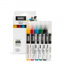 Liquitex : Professionnel: Marqueur : Lot de Mine de 6x2mm: