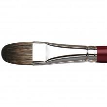 Da Vinci :Black Sable : Peinture à l'Huile: Série 1844 : Filbert : Taille 18