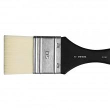Jackson's :Pinceau Mottler, Poils Synthétiques, Blanc : 50mm