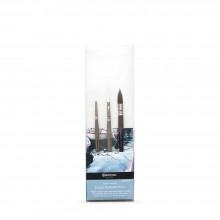 Escoda : Lot de Pinceaux Signature : Julia Barminova : Série 1430 / 1436 / 15300
