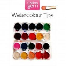 Collins Gem (small format Book): Watercolour tips : écrit par Ian King