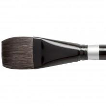 Silver Brush : Black Velvet : Pinceau Ecureuil et Risslon (Synthétique) :Série 3008S : Square Wash : Taille 1-1/2in