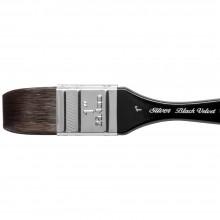 Silver Brush : Black Velvet : Pinceau Ecureuil et Risslon (Synthétique) :Série 3014S : Large  Wash Blender : Taille 1in