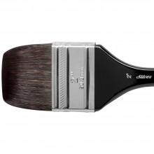 Silver Brush : Black Velvet : Pinceau Ecureuil et Risslon (Synthétique) :Série 3014S : Large  Wash Blender : Taille 2in