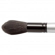 Silver Brush : Black Velvet : Pinceau Ecureuil et Risslon (Synthétique) :Série 3025S : Jumbo Rond Wash : Taille L