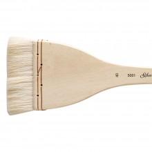Silver Brush : Atelier Merlu : Manche Long : Plat : Taille 40 : 75mm Large