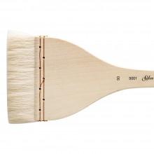 Silver Brush : Atelier Merlu : Manche Long : Plat : Taille 50 : 90mm Large