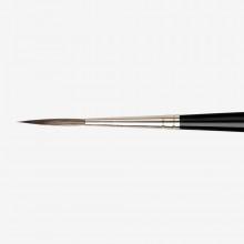 Da Vinci : Casaneo :Pinceau Synthétique pour Aquarelle : Série 1290 : A Lettres : No. 4