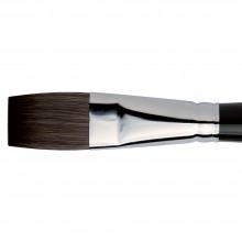Da Vinci : Casaneo :Pinceau Synthétique pour Aquarelle : Série 5898 : Plat : Taille 24